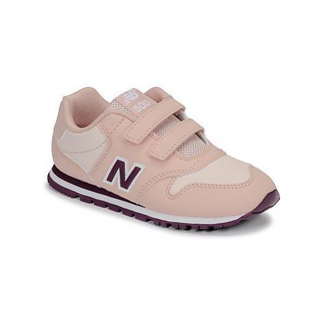 New Balance 500 girls's Children's Shoes (Trainers) in Pink