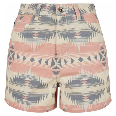 Urban Classics - Ladies Inka Highwaist Shorts - Girls shorts - multicolour
