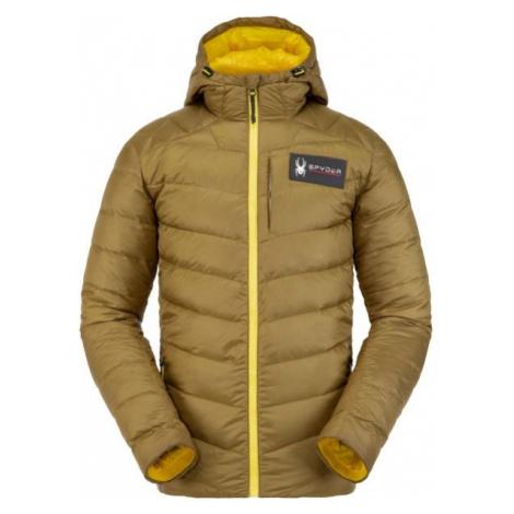 Spyder M TEAM TIMELESS brown - Winter jacket