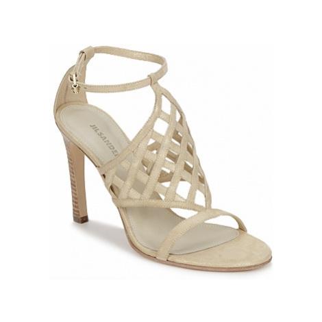 Jil Sander JS16096 women's Sandals in Beige
