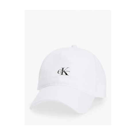 Calvin Klein Cotton Twill Cap, Bright White