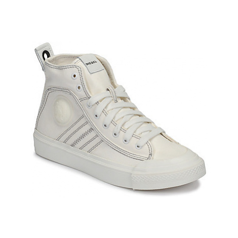 Diesel S-ASTICO MID LACE W women's Shoes (High-top Trainers) in White