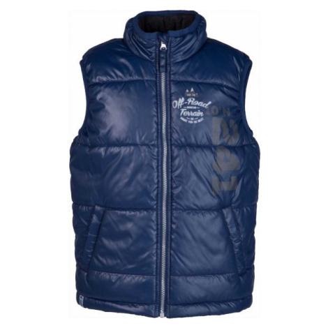 Lewro ASHES dark blue - Children's quilted vest