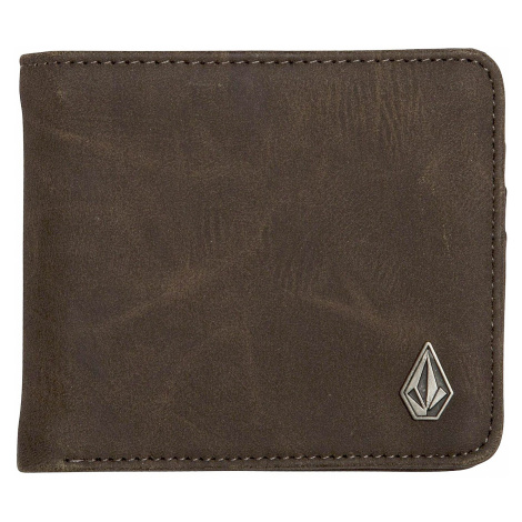 wallet Volcom Slim Stone PU - Brown - men´s