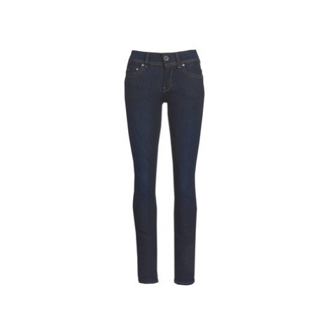G-Star Raw MIDGE SADDLE MID STRAIGHT women's Jeans in Blue