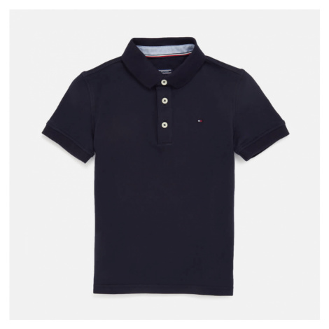 Tommy Hilfiger Boys' Iconic Polo Shirt - Sky Captain