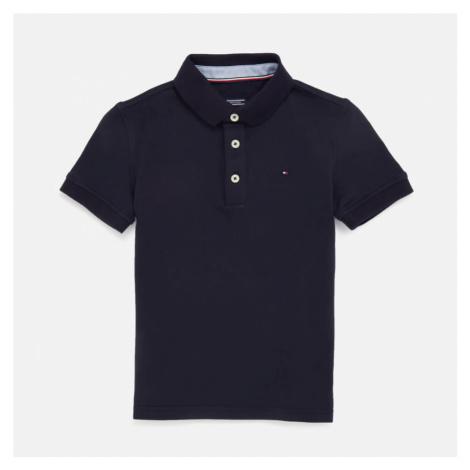 Tommy Hilfiger Boys' Short Sleeve Polo Shirt - Sky Captain