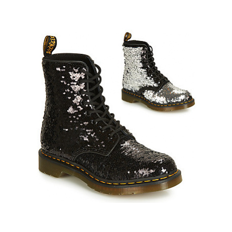 Dr Martens 1461 Pascal SEQN women's Mid Boots in Black