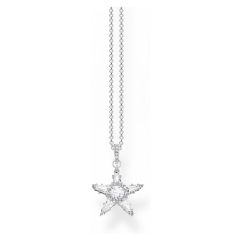Thomas Sabo Jewellery Zirconia Magic Stars Necklace KE1899-051-14-L45V