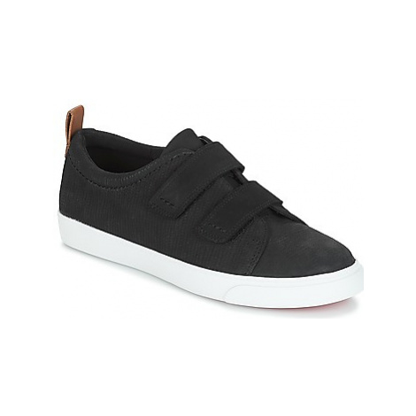 Clarks Glove Daisy women's Shoes (Trainers) in Black