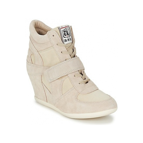 Ash BOWIE women's Shoes (High-top Trainers) in Beige