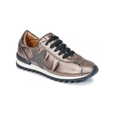 Unisa DONYA girls's Children's Shoes (Trainers) in Brown