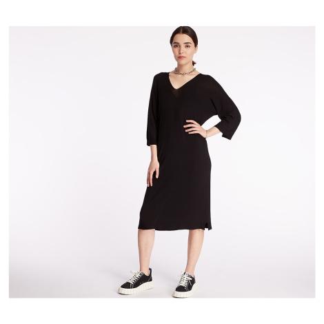 Pietro Filipi Lady's Seamless Knitted Dress Black