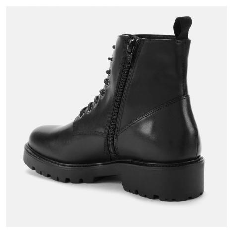 Vagabond Women's Kenova Leather Lace-Up Boots - Black - UK