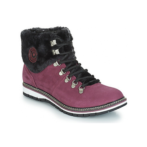 Pataugas NEA CUIR F4D women's Mid Boots in Purple