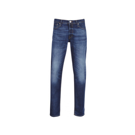 Jack Jones JJIMIKE men's Skinny Jeans in Blue Jack & Jones