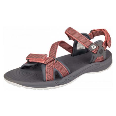 Jack Wolfskin LAKEWOOD RIDE SANDAL black - Women's hiking sandals