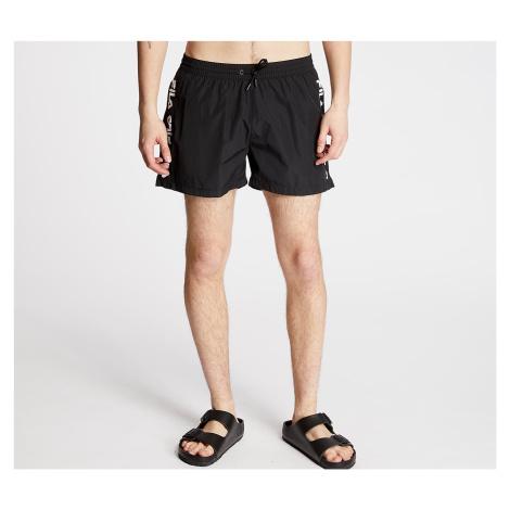 Black men's swim shorts