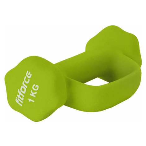 Fitforce FJDBN-1KG green - Dumbbell