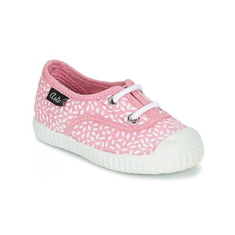 Aster MILEY girls's Children's Shoes (Trainers) in Pink