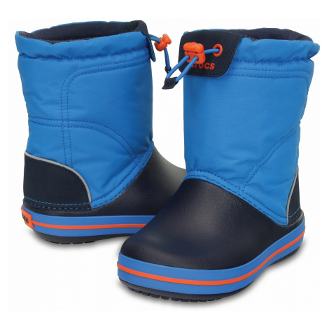 shoes Crocs Crocband Lodgepoint Boot - Ocean/Navy