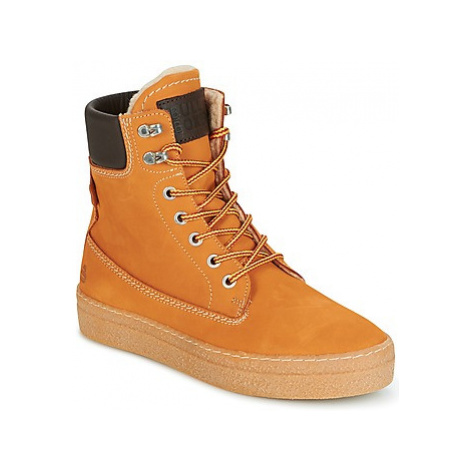 Bullboxer ARMEL women's Shoes (High-top Trainers) in Brown