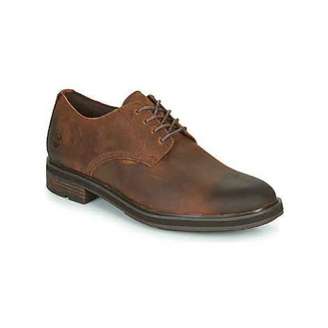 Timberland WINDBUCKS PT OX WP men's Casual Shoes in Brown