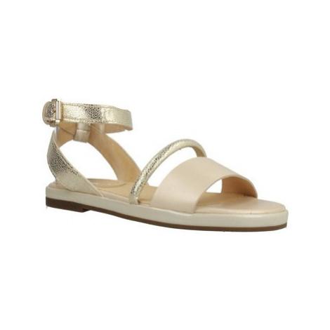Geox D KOLLEEN women's Sandals in Gold