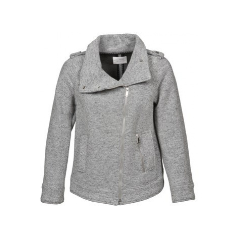 Gas CRISSY women's Coat in Grey