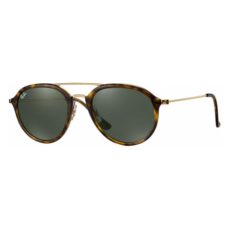 Ray-Ban Rb4253 Man Sunglasses Lenses: Green, Frame: Gold - RB4253 710 53-21