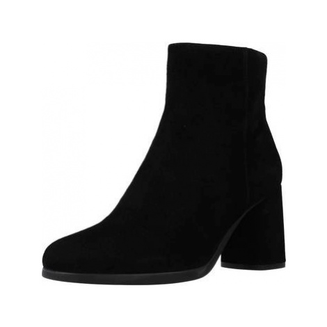 Geox D CALINDA HIGH women's Low Ankle Boots in Black