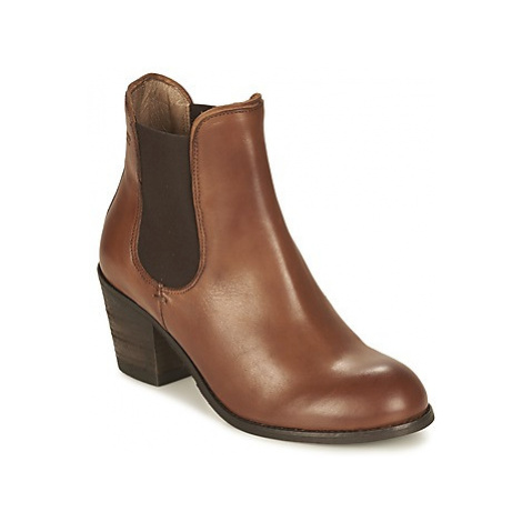 Coqueterra MAGGIE women's Low Ankle Boots in Brown