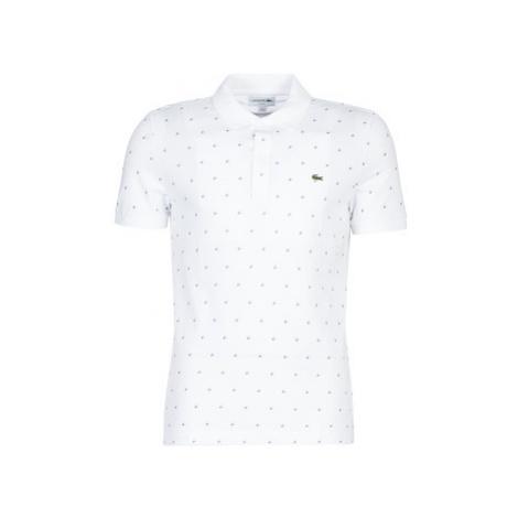Lacoste PH8867 SLIM men's Polo shirt in White