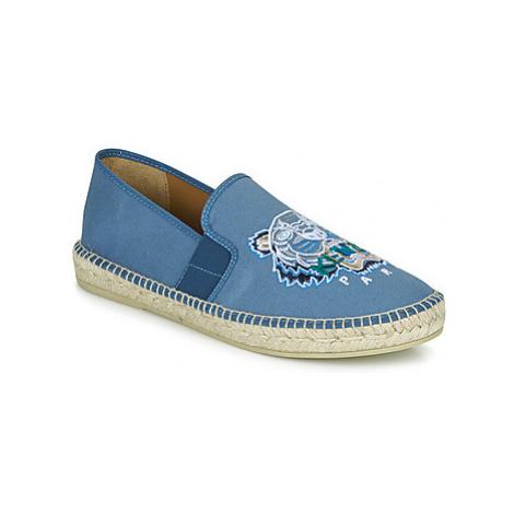Kenzo ESPADRILLE ELASTIQUE TIGER HEAD men's Espadrilles / Casual Shoes in Blue