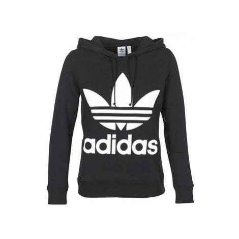 Adidas TREFOIL HOODIE women's Sweatshirt in Black