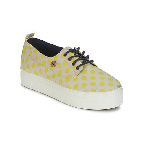 Faguo FIGLONE women's Shoes (Trainers) in Yellow