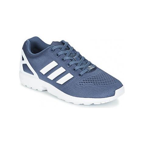 Adidas ZX FLUX EM men's Shoes (Trainers) in Blue
