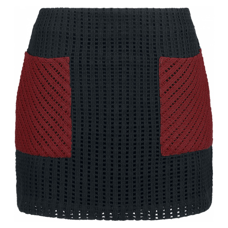 RED by EMP - Proud Mary - Skirt - bordeaux-black