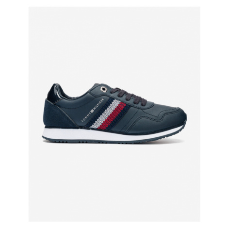 Tommy Hilfiger Tommy Leather Low Runner Sneakers Blue