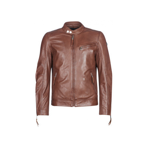 Redskins TRUST CASTING men's Leather jacket in Brown
