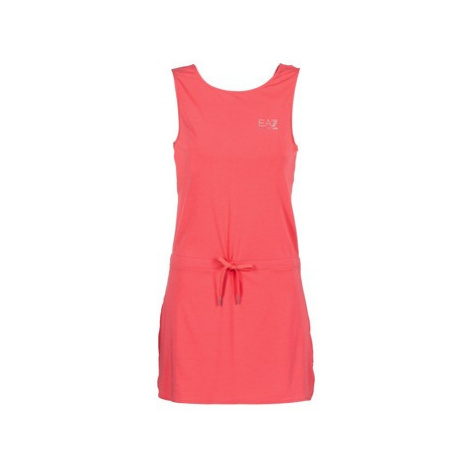 Emporio Armani EA7 TRAIN EVOLUTION DRS women's Dress in Pink