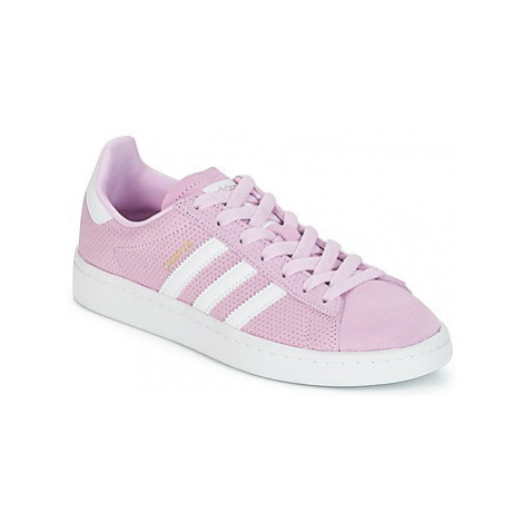 Adidas CAMPUS J girls's Children's Shoes (Trainers) in Pink