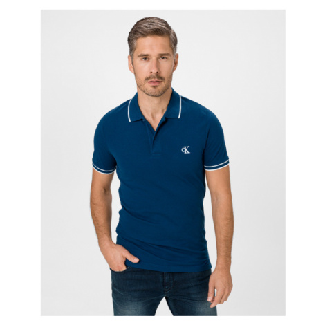 Calvin Klein Polo Shirt Blue