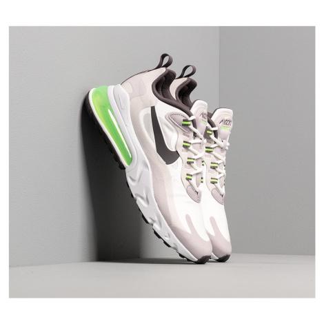 Nike Air Max 270 React Summit White/ Electric Green-Vast Grey