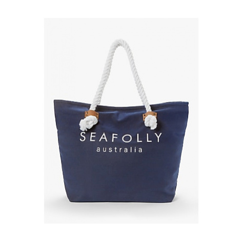 Seafolly Ship Sail Tote Bag, Blue