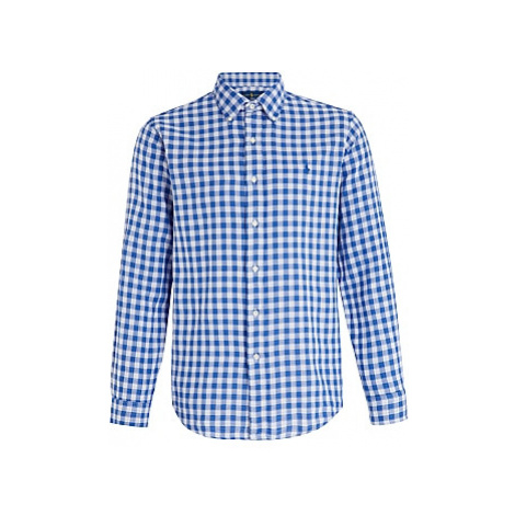 Polo Ralph Lauren Custom Fit Check Shirt, Blue/White