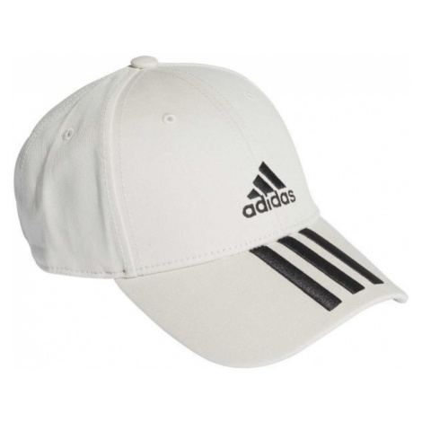 adidas BASEBALL 3 STRIPES CAP COTTON gray - Baseball cap