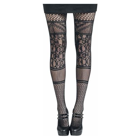 Pamela Mann - Panelled Lace Tights - Tights - black
