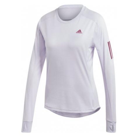 adidas OTR LS TEE purple - Women's T-shirt