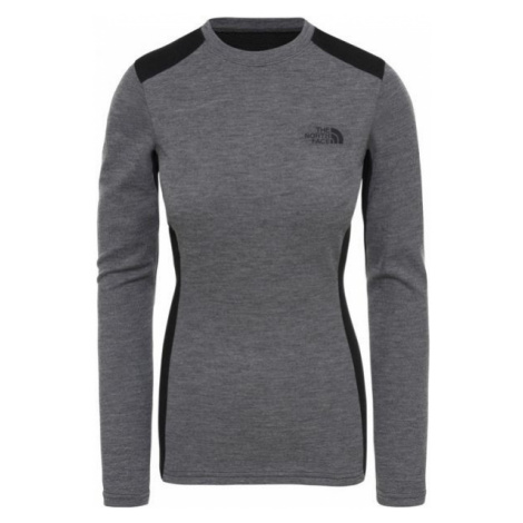 The North Face EASY L/S CREW NECK grey - Women's top